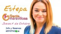 """Estepa volverá a ser protagonista como parte del público del programa de Canal Sur """"Gente Maravillosa"""", presentado por Toñi Moreno."""