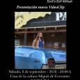 El próximo sábado 8 de septiembre en la Casa de la Cultura Miguel de Cervantes de Estepa, tendrá lugar la presentación del nuevo video clip de Tovales.