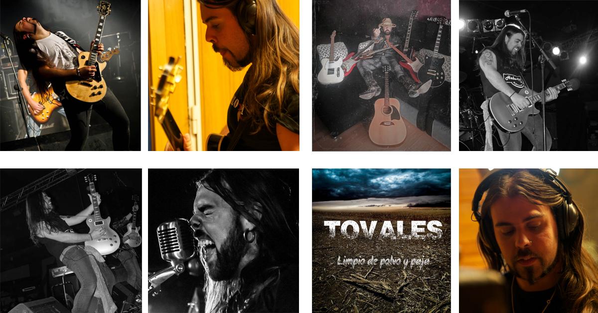 Alfonso Tovales, integrante de la banda de rock