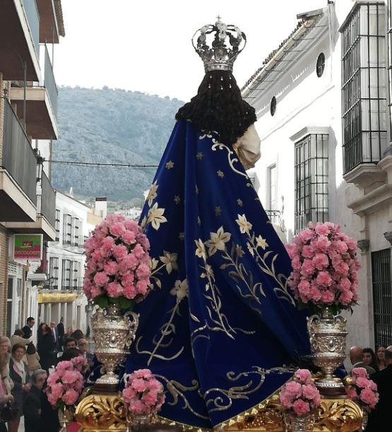 Procesión de la Inmaculada Concepción en Estepa