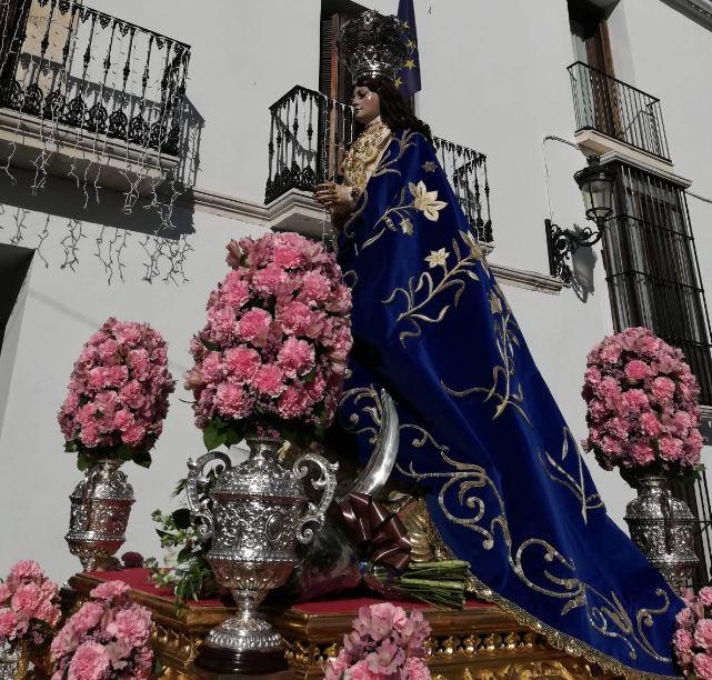 Procesión Inmaculada Concepción Estepa 2018