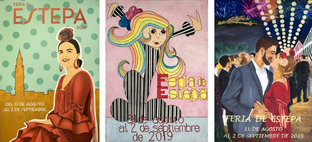 Votación cartel feria de Estepa 2019