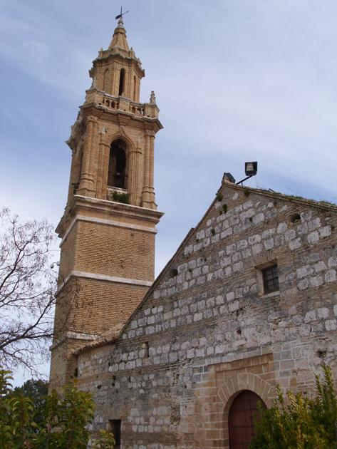Campanario de la Iglesia de Santa Maria La Mayor en el Cerro de San Cristóbal, Estepa