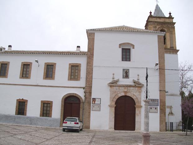 Iglesia y Convento de Nuestra Señora de Gracia y San Francisco en el Cerro de San Cristóbal, Estepa