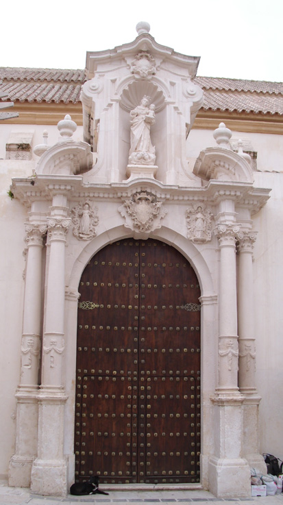 Puerta lateral de la Iglesia de San Sebastián, Estepa