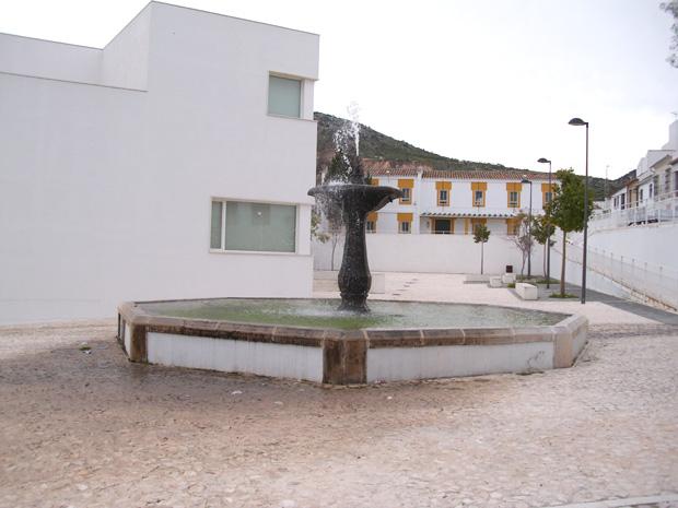 Fuente El Pilar en la Plaza del Pilar, Estepa