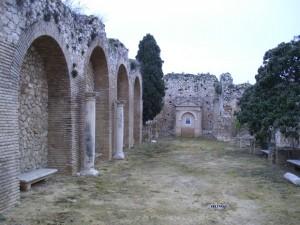 Iglesia del Antiguo Convento de los Padres Mínimos de Estepa a la que pertenecía la Torre de la Victoria