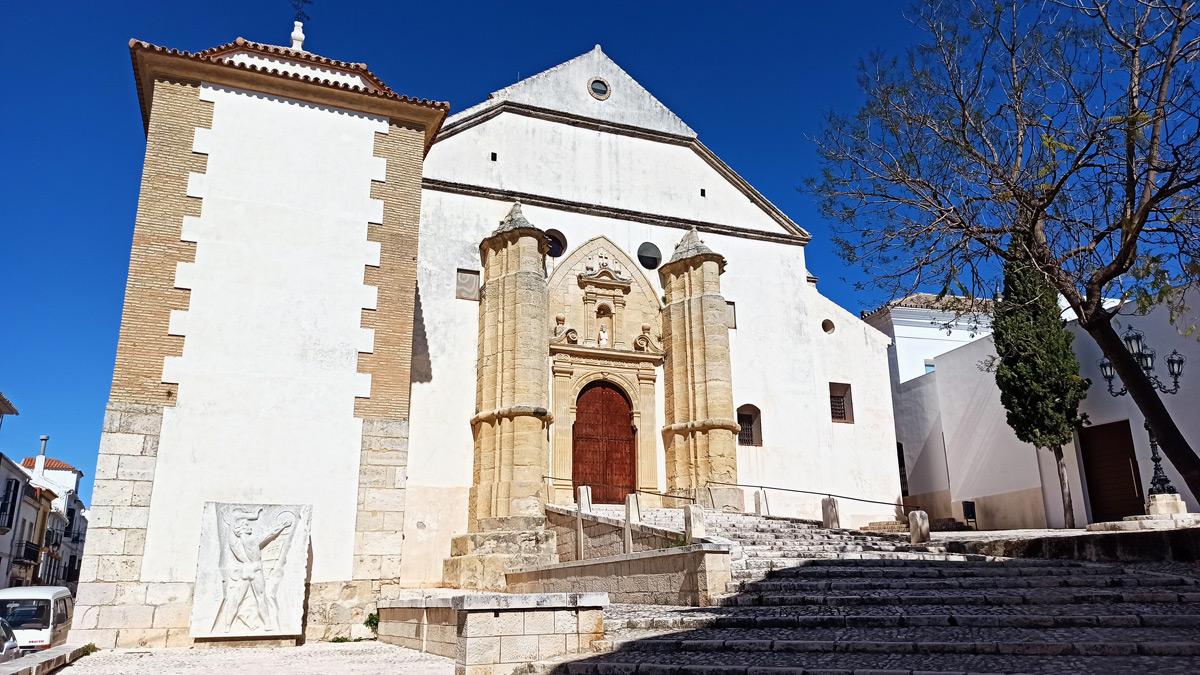 Iglesia de San Sebastián en Estepa