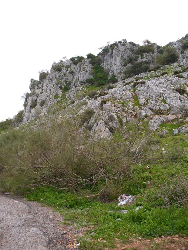 La Raja de Gilena, a 1 Km de Estepa