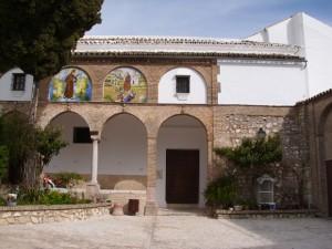Patio del Convento de Santa clara en Estepa