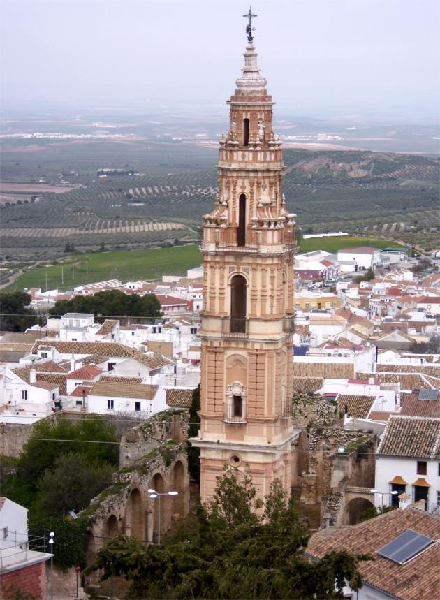 Torre de la Victoria, perteneciente al antiguo Convento de los Padres Mínimos de Estepa