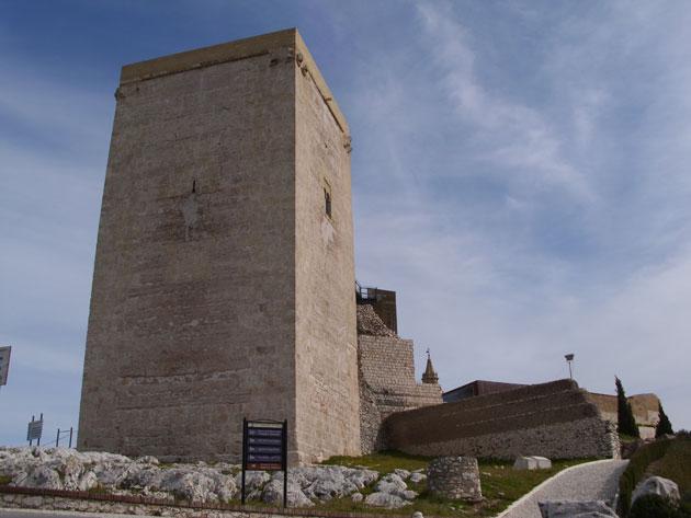 Torre del Homenaje en el Antiguo Alcázar de Estepa (Sevilla)