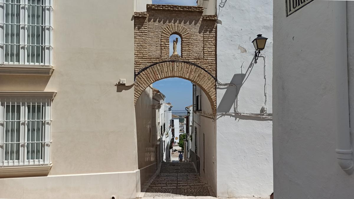 Calle Libertad en Estepa