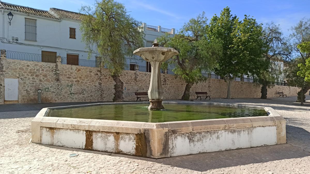 Fuente el Pilar en Estepa
