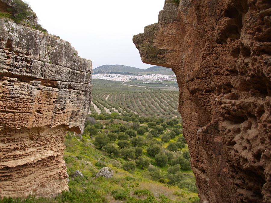 Vista de Estepa desde Los Canterones