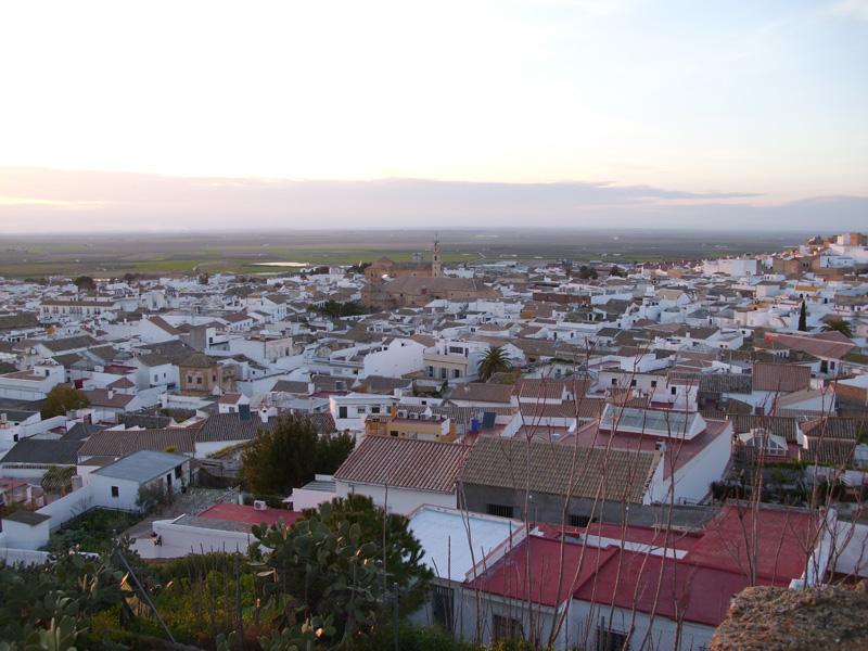 Vista de Osuna desde La Colegiata