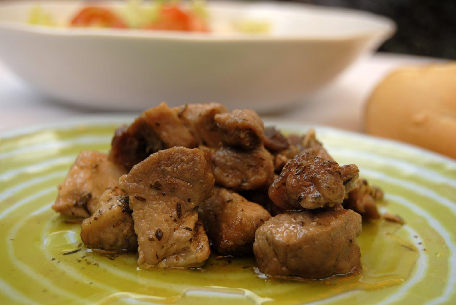 Carne con Tomillo