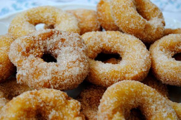 Recetas de la comarca de Estepa: Roscos fritos de la Abuela Pili