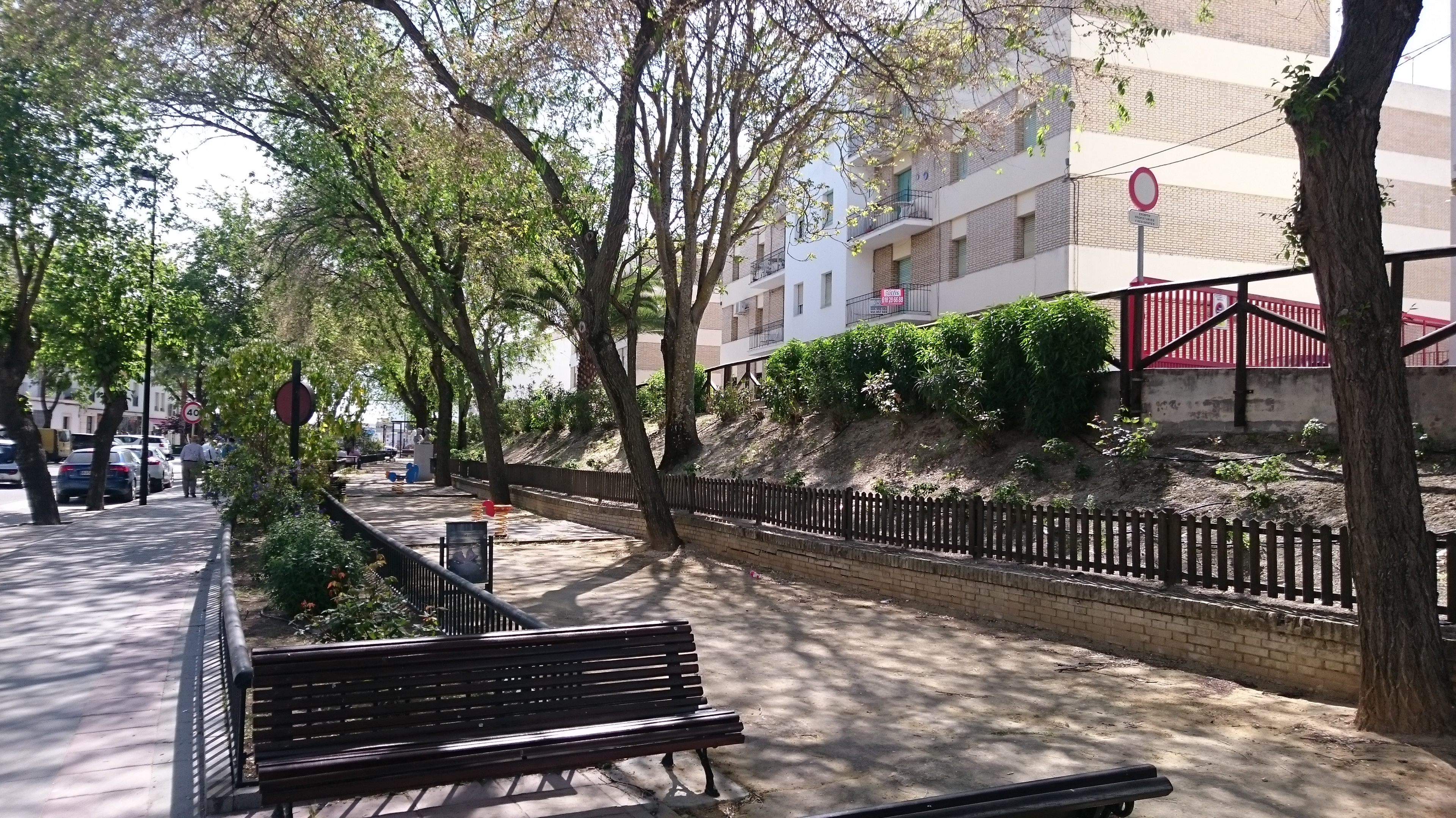 Parque urbano en Estepa