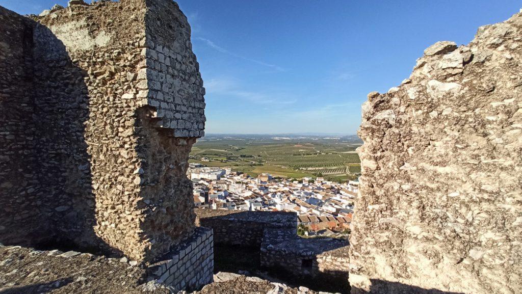 Antigua puerta en las murallas de Estepa