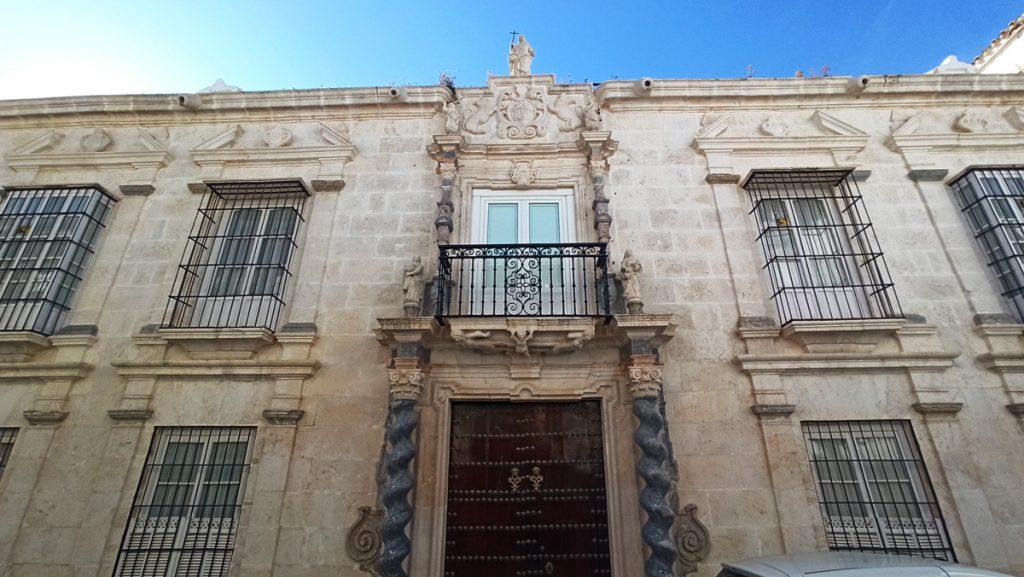 Casa Palacio del Marqués de Cerverales en Estepa