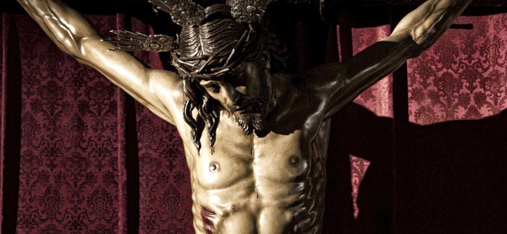 Traslado del Cristo de la Salud en Estepa